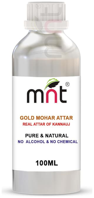 MNT Gold Mohar Attar For Unisex Long Lasting & Alcohol Free (100ml)