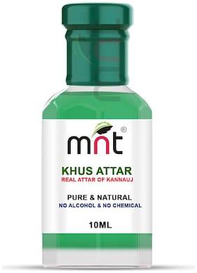 MNT Khus Attar For Unisex Long Lasting & Alcohol Free (10ml)