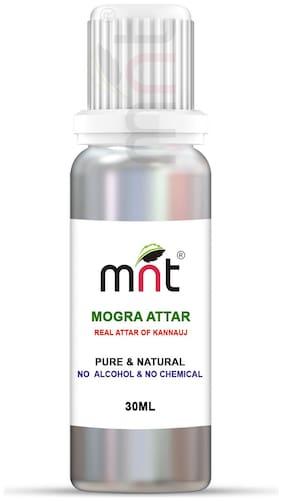 MNT Mogra Attar For Unisex Long Lasting & Alcohol Free (30ml)