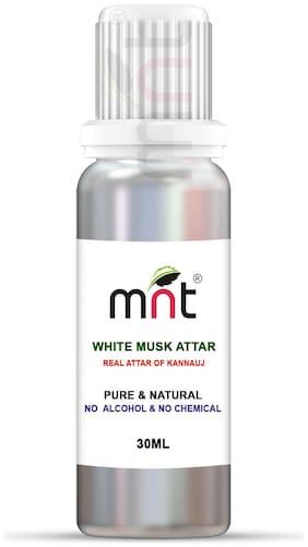 MNT White Musk Attar For Unisex Long Lasting & Alcohol Free (30ml)