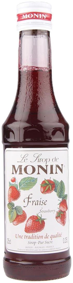 Monin Strawberry Syrup;250ml