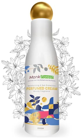 Monk Forest Perfumed Skin Moisturizer Cream with Sun protection For Men And Women