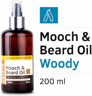 USTRAA Mooch And Beard Oil Woody - 200 ml