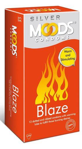 Moods Silver Blaze 12's Condoms