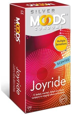 Moods Silver Joyride 12's Condoms