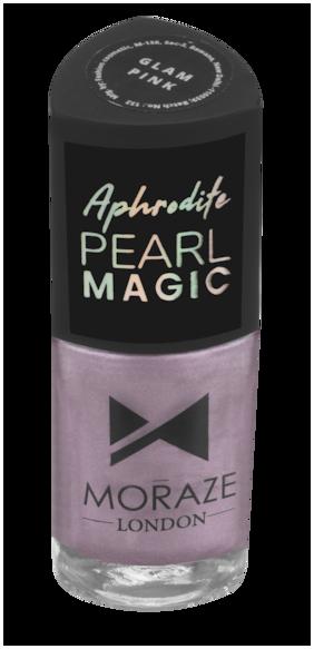 Moraze Aphrodite Pearl Magic Nail Polish | Nail Paint | Nail Enamel | Glossy Nail Paint | Long Lasting Nail Polish | Nail Lacquer | for Girls | 8.5 ML | Paraben Free