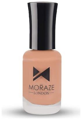 Moraze  Nude Collection Nail Polish | Vegan Nail Polish | Nail Lacquer | Nail Polish | Nail Enamel | for Girls and Women | 8 ML | Shade- Rose Nude