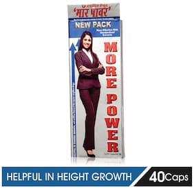 More Power Height Growth Capsules, 40Caps, Pack of 1