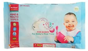 Morison Baby Dreams Hand & Mouth Wipes 20 Pulls