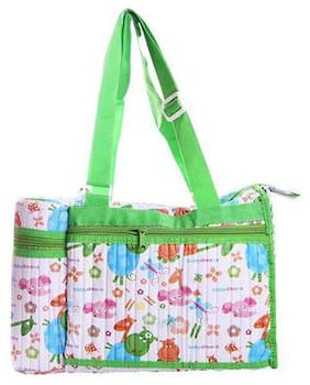 Morisons Baby Dreams Bag With Bottle Insulator - Green