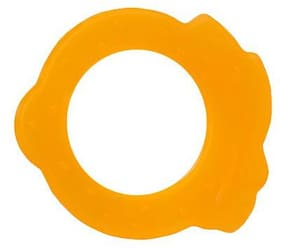 Morisons Baby Dreams Silicone Teether - Apple, Orange 1 pc