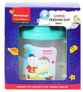 Morisons Baby Dreams Sippie Cup - Green 1 pc