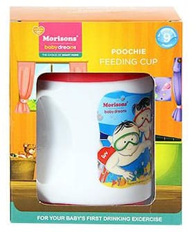 Morisons Baby Dreams Poochie Cup - Red 1 pc