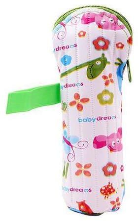 Morisons Baby Dreams Feeding Bottle Cover - Green  Animal Print  Medium 250 ml