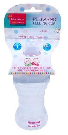 Morisons Baby Dreams Peekaboo Sipper - Pink 240 ml