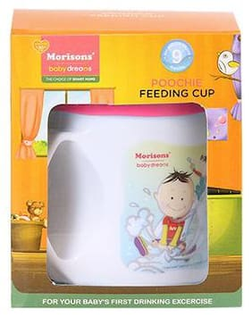 Morisons Baby Dreams Poochie Cup - Pink 1 pc