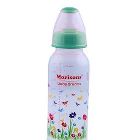 Morisons Baby Dreams PP Feeding Bottle With Spoon - Blue 1 pc 250 ml