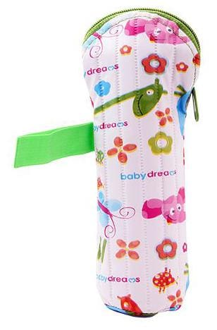Morisons Baby Dreams Feeding Bottle Cover - Green  Animal Print  Medium 250 ml