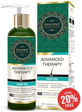 Morpheme Remedies Advanced Therapy Hair Oil - 100ml (Anti Hair Fall, Hair Loss & Hair Repair)