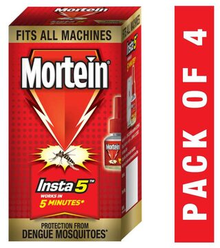 Mortein Insta5 Refill - 35 ml (Pack of 4)