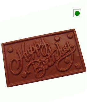 Moshik'S Happy Birthday 200 g Bar Dark Chocolate