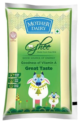 Mother Dairy Pure Great Test Cow Ghee 1 L