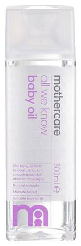 Mothercare  Baby Oil - All We Know 300 ml