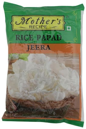 Mothers Recipe Rice Papad - Jeera 75 g