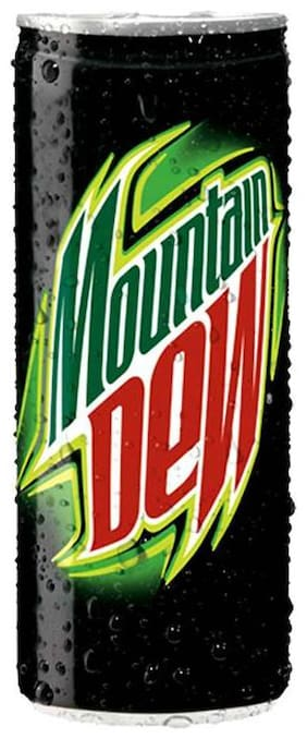 Mountain Dew Soft Drink 250 ml