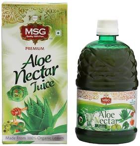 MSG Aloe Vera Juice with Amla|Honey|Brahmi 750ml Immunity/Immunity Booster