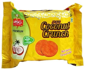 MSG Coconut Crunch Biscuits 100g Pack of 1