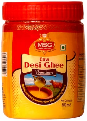 MSG Cow Desi Ghee 500ml