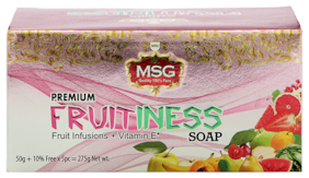 MSG Fruitiness Soaps 275g