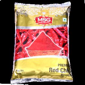 MSG Red Chilli Powder 1kg