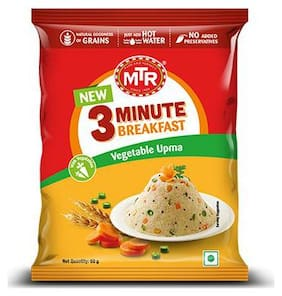 Mtr 3 Minute Vegetable Upma 60 g