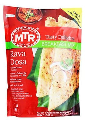 Mtr Breakfast Mix - Rava Dosa 500 Gm