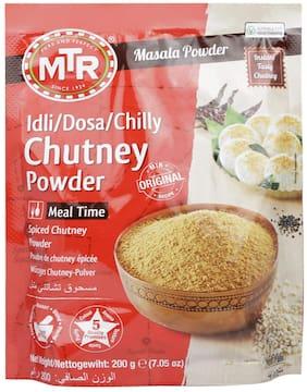 MTR Chilli Chutney Powder 200g  ( Pack of 2 )