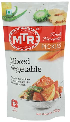 MTR Pickle - Mix Vegetable 200 gm