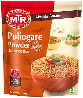 MTR Puliogare Powder 200g  ( Pack of 5 )