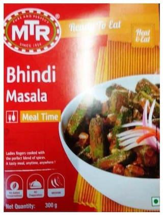 MTR Ready To Eat Bhindi Masala 300 g 1 pcs