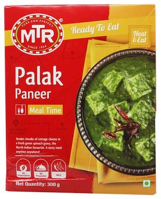 MTR Ready To Eat - Palak Paneer 300 g