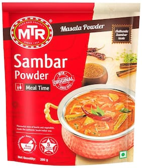 MTR Sambar Powder 200g  ( Pack of 2 )