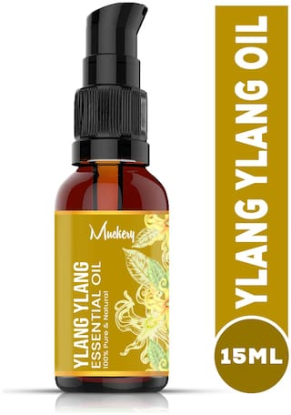 Muckery 100% Pure Ylang Ylang Essential Oil (15 ml) (pack of 1)