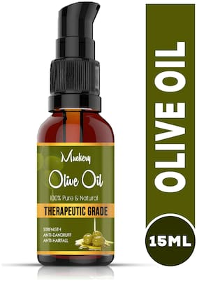 Muckery Best Pure Olive Oil (15 ml) (Pack of 1)