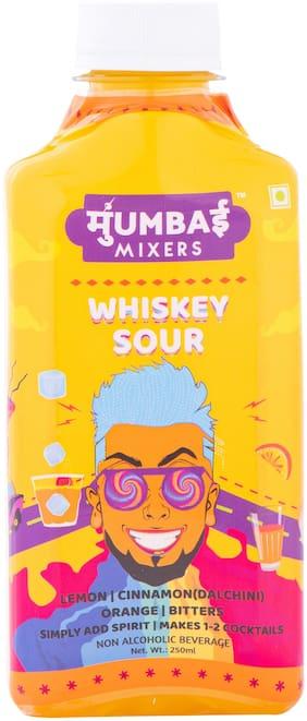 Mumbai Mixers Whisky Sour Cocktail Mixer 250 ml (Pack Of 4)