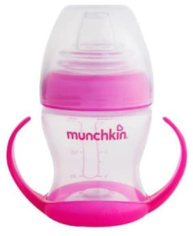Munchkin Baby Flexi Transition Cup - 4m+  Pink 115 ml