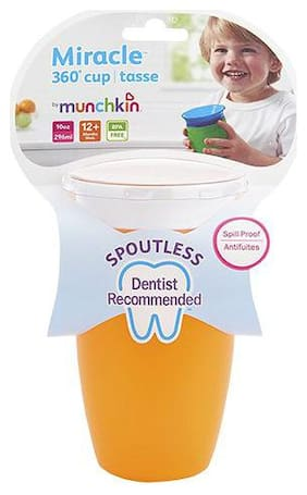 Munchkin Miracle 360 Sippy Tumbler - Orange, 12 m+ 295 ml