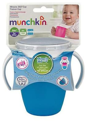 Munchkin Miracle 360 Sipper Cup - Blue  6 m+ 207 ml