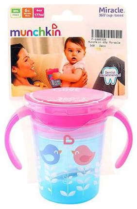 Munchkin Miracle 360 Deco Sipper Cup - Blue Bird  6 m+ 177 ml