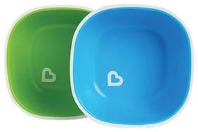 Munchkin Multipurpose Bowls For Kids - Blue & Green 2 pcs
